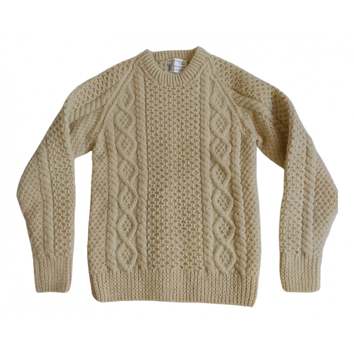 Non Signé / Unsigned \N Camel Wool Knitwear for Women XS International
