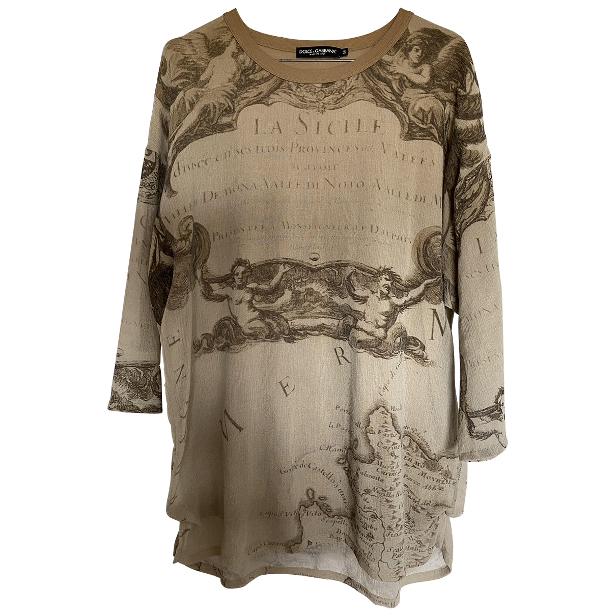 Dolce & Gabbana - Tee shirts   pour homme - beige