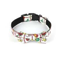 1pc Christmas Cartoon Graphic Dog Collar