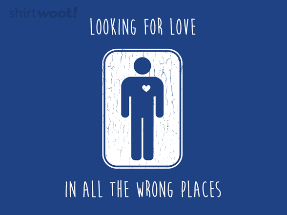 Looking For Love - Men T Shirt