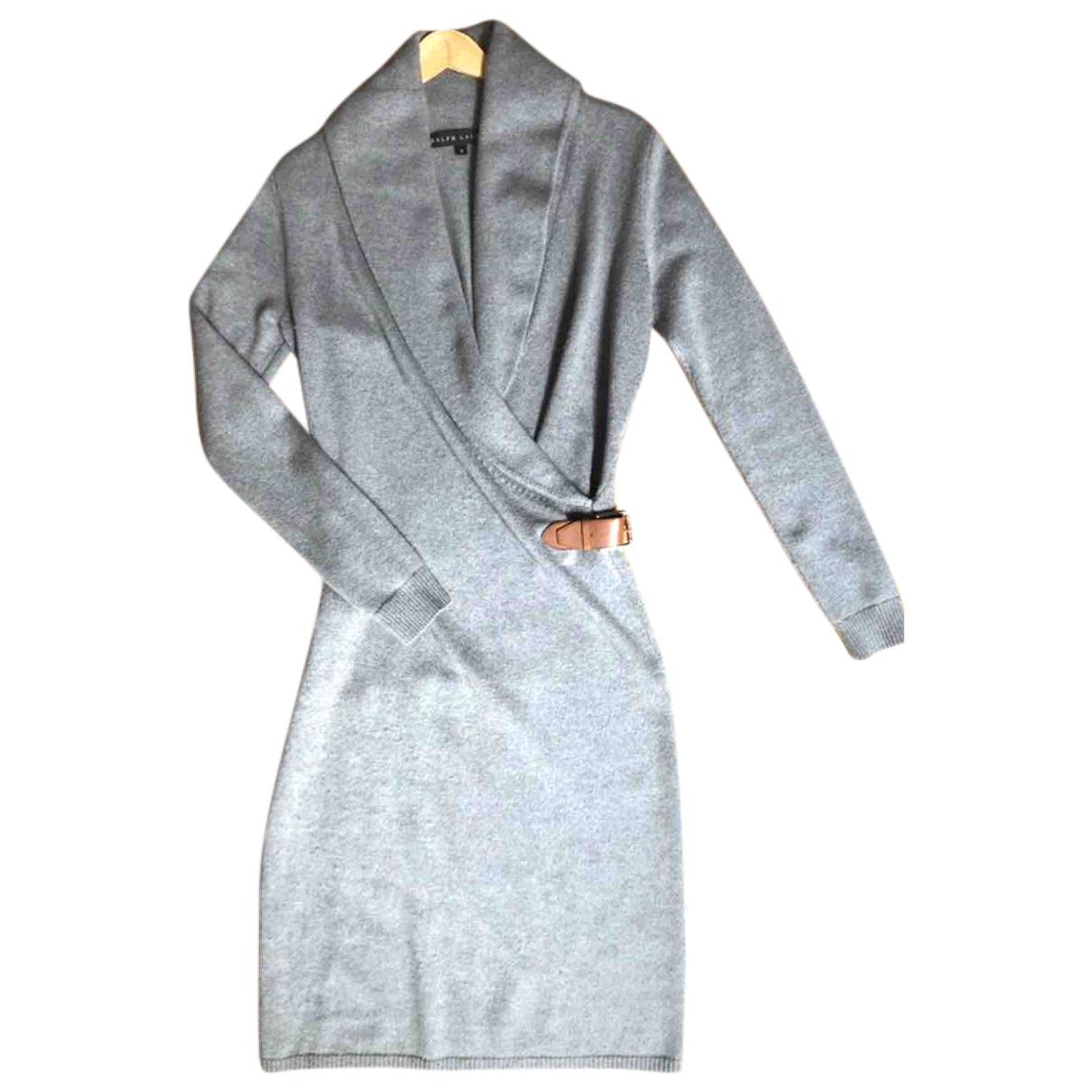 Ralph Lauren \N Kleid in  Grau Kaschmir