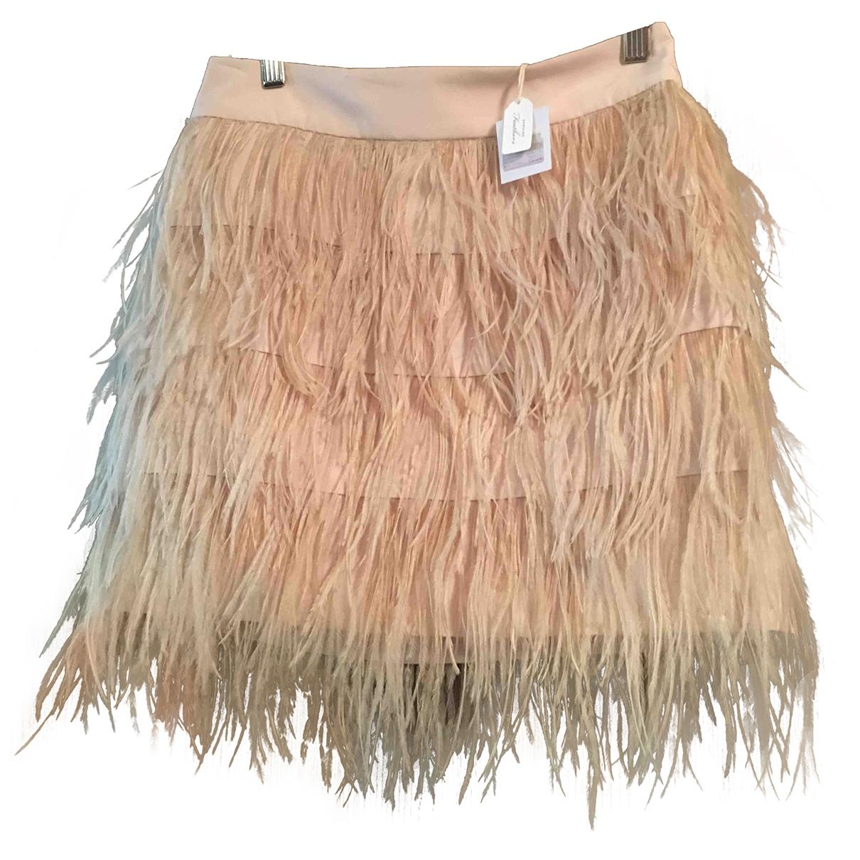 Mini falda de Seda Club Monaco