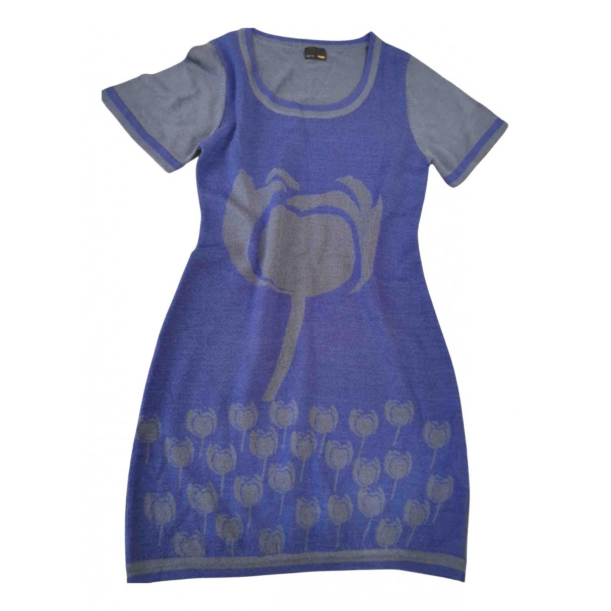 Fendi N Blue Wool dress for Women L International