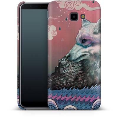 Samsung Galaxy J4 Plus Smartphone Huelle - Lone Wolf von Mat Miller