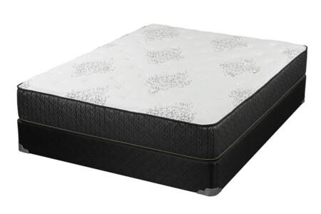 Freya Collection 350372Q Queen Size Mattress with CertiPUR-US certified 360-degree Foam Encasement  Extra-thick Upper Soft Foam  Verticoil Elite
