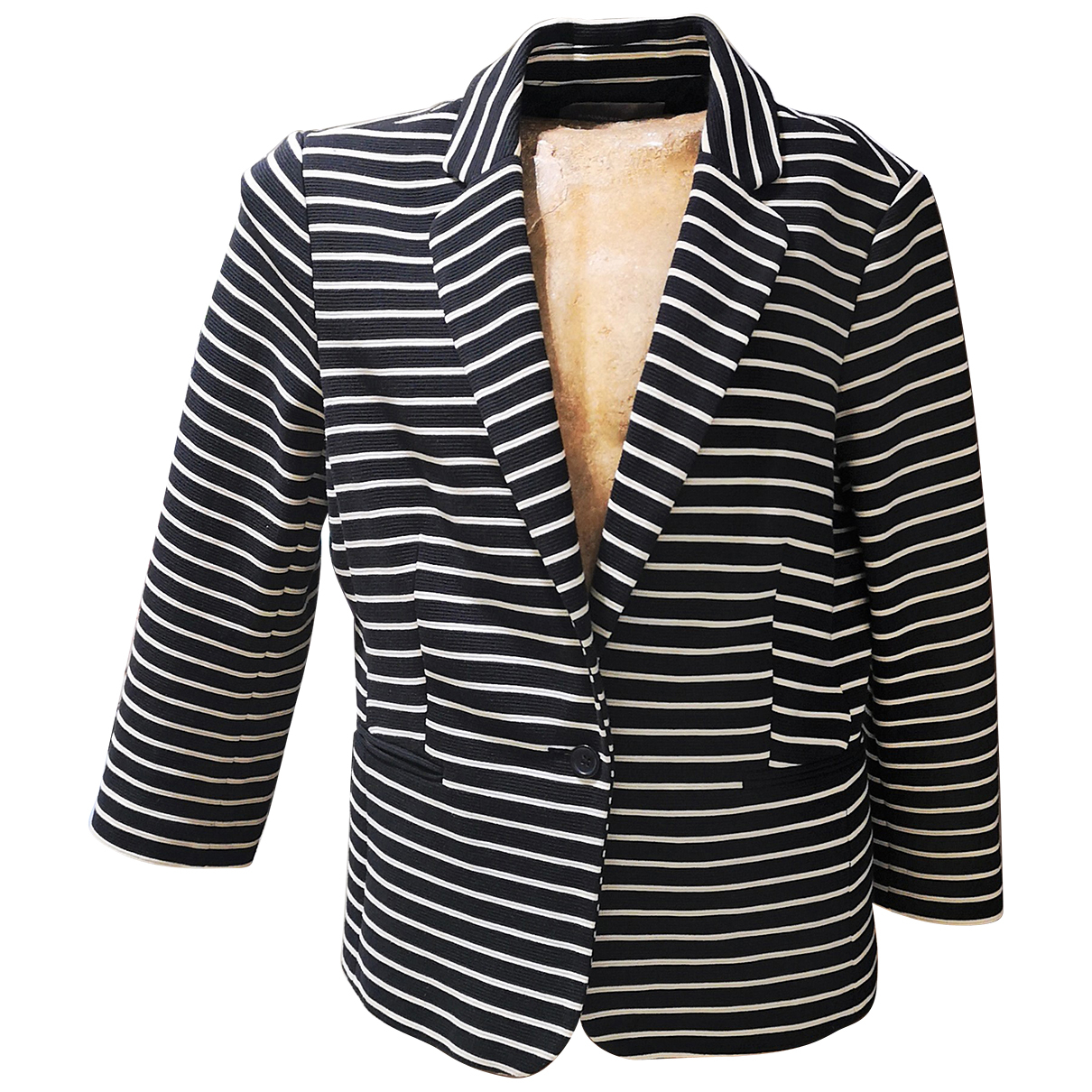 Banana Republic N Black Cotton jacket for Women L International