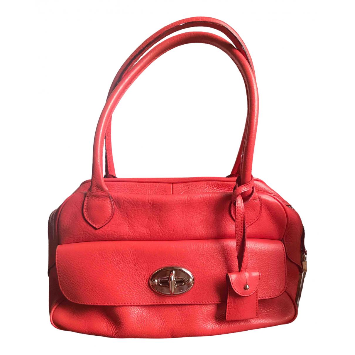 Mulberry \N Orange Leather handbag for Women \N