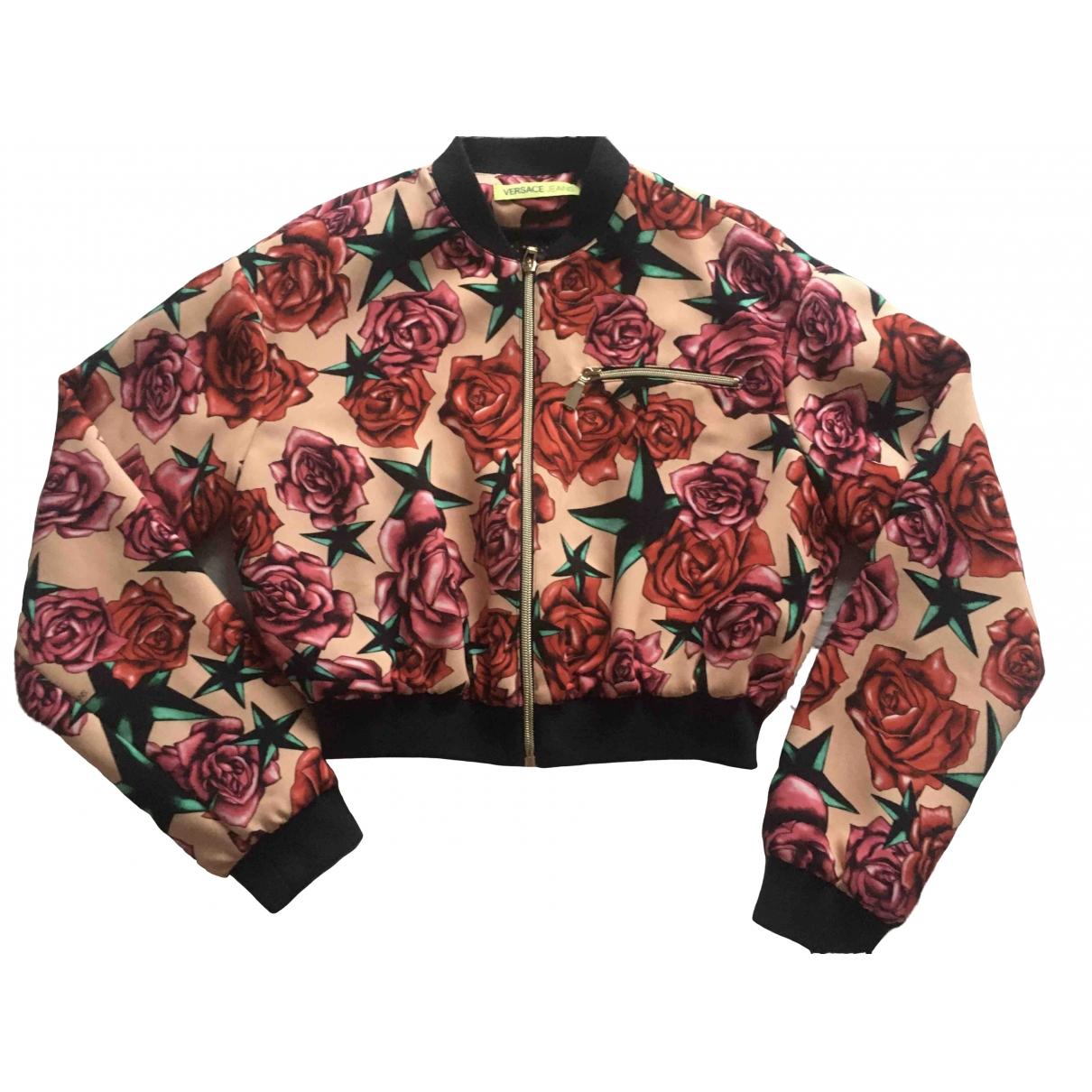 Versace Jeans \N Jacke in  Rosa Seide