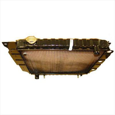Omix-ADA Replacement 1 Core Radiator for 4 or 6 Cylinder Engine with Automatic Transmission - 17101.12