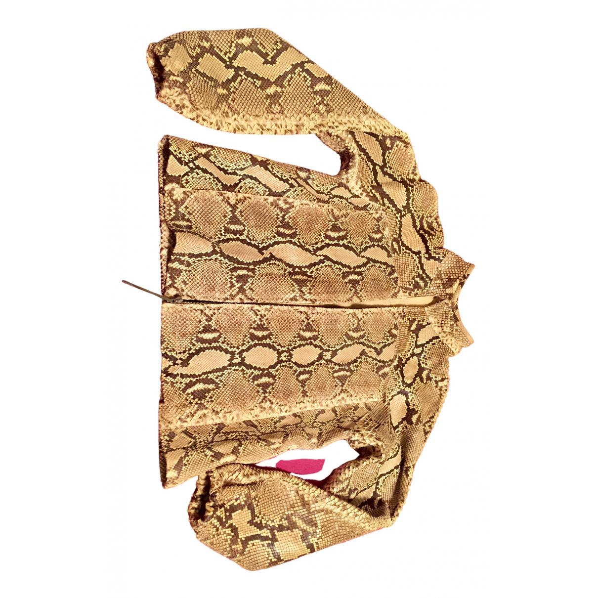 Gucci - Blouson   pour femme en python