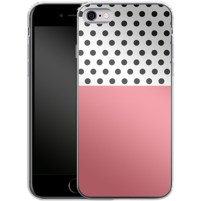 Apple iPhone 6s Silikon Handyhuelle - Coral Dots von caseable Designs