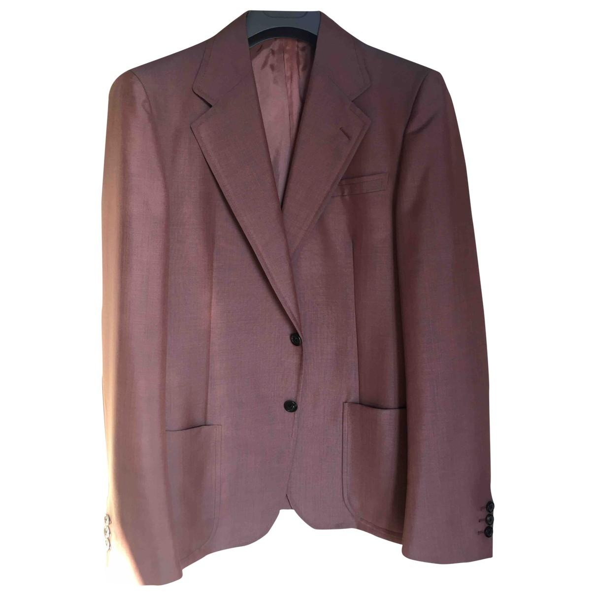 Prada - Vestes.Blousons   pour homme en laine - rose