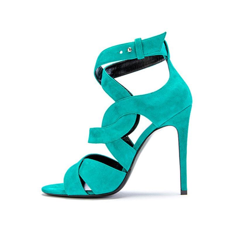 Ericdress Buckle Heel Covering Open Toe Casual Sandals