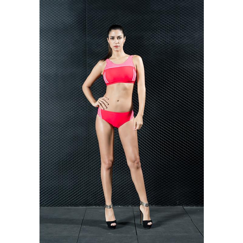 Two-Piece Sports Push up Bikini Sets Women Swimwear