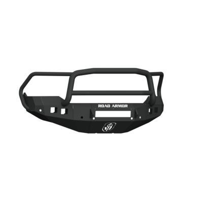 Road Armor Stealth Front Non-Winch Bumper Lonestar Guard (Texture Black) - 413F5B-NW
