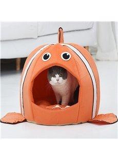 Clownfish Nemo Cute And Funny Cartoon Cat House/Hamster House