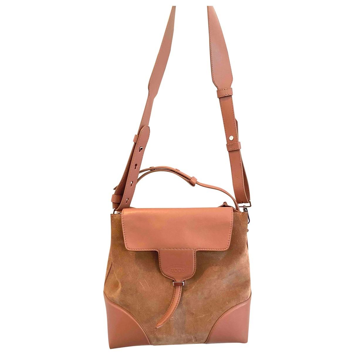 Tods - Sac a main   pour femme en cuir - rose