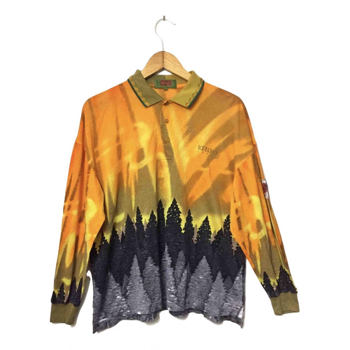 Kenzo \N Poloshirts in  Orange Baumwolle
