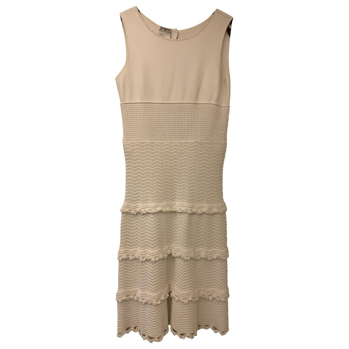 Chanel \N White Cotton dress for Women 40 FR