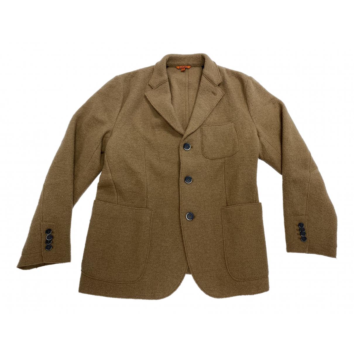 Barena Venezia N Camel Wool jacket  for Men 52 IT