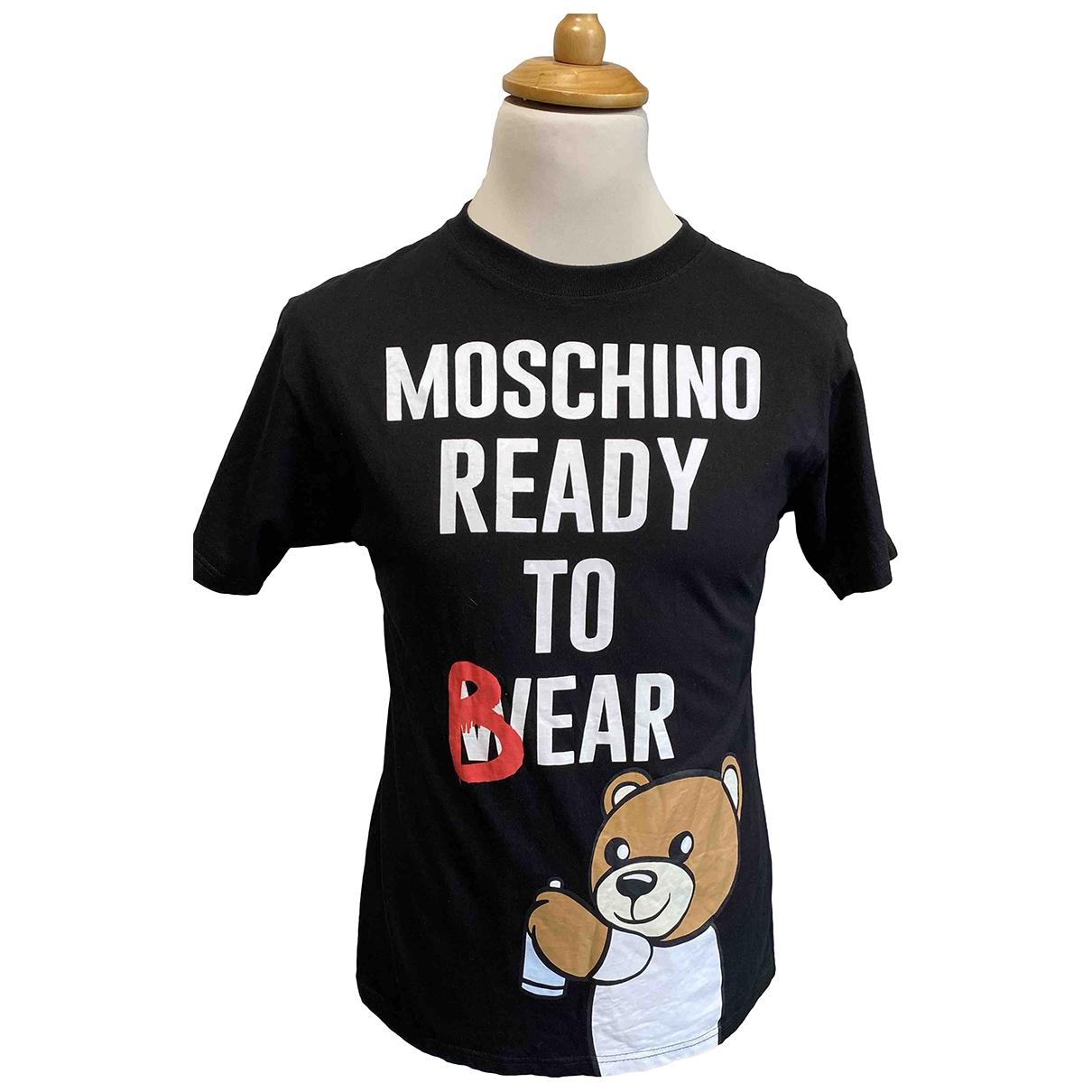 Moschino \N T-Shirts in  Schwarz Baumwolle