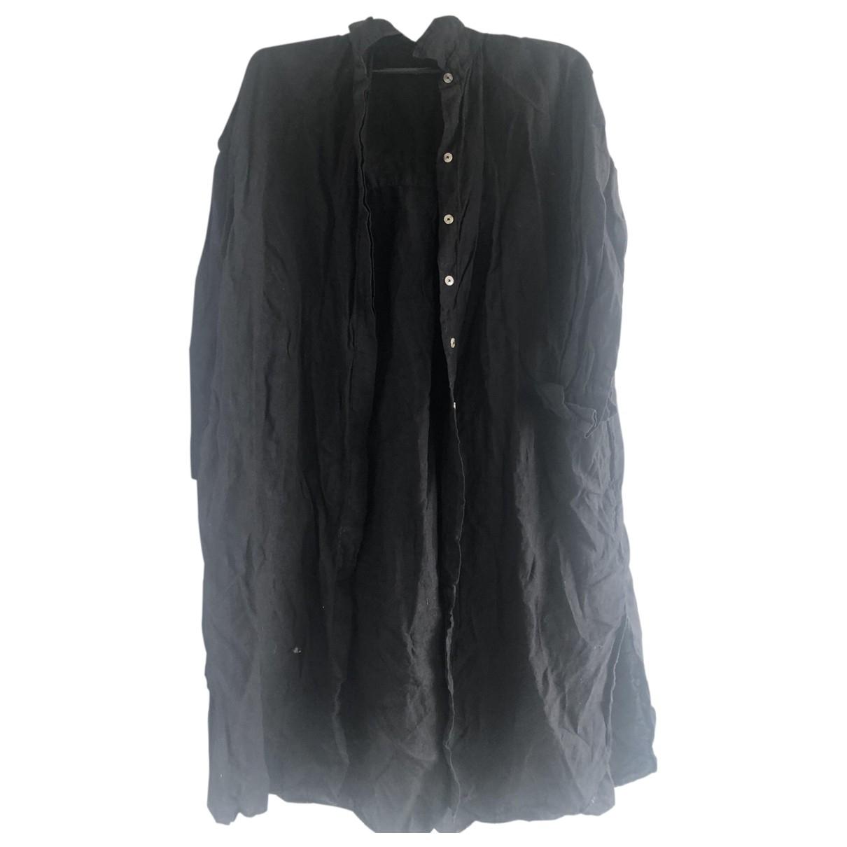 Massimo Dutti \N Black Linen skirt for Women S International