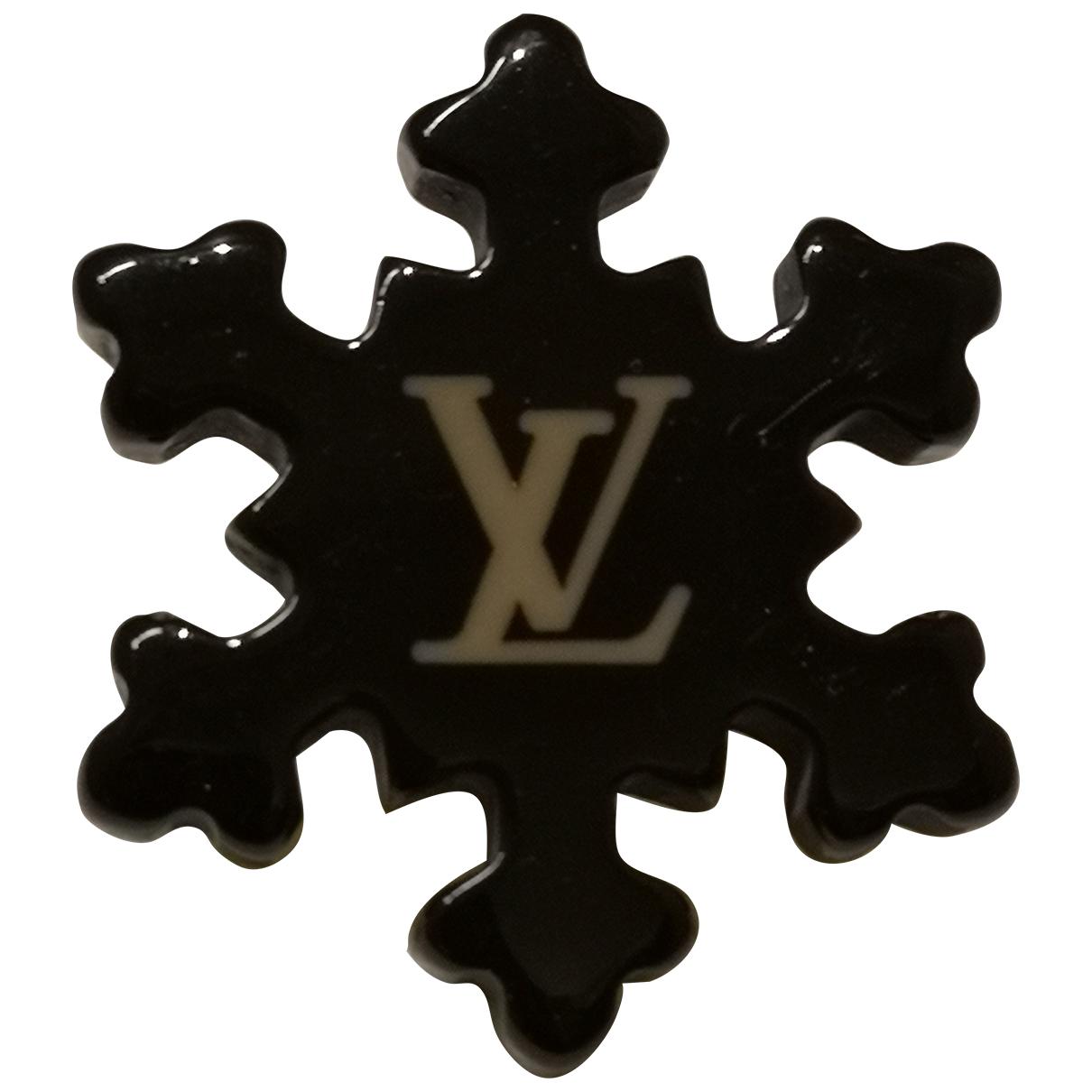 Louis Vuitton \N Brosche in  Braun Metall