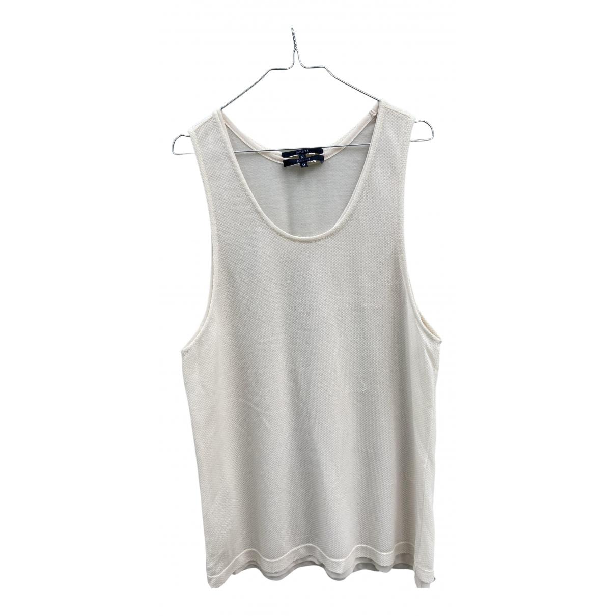 Gucci \N Kleid in  Weiss Seide