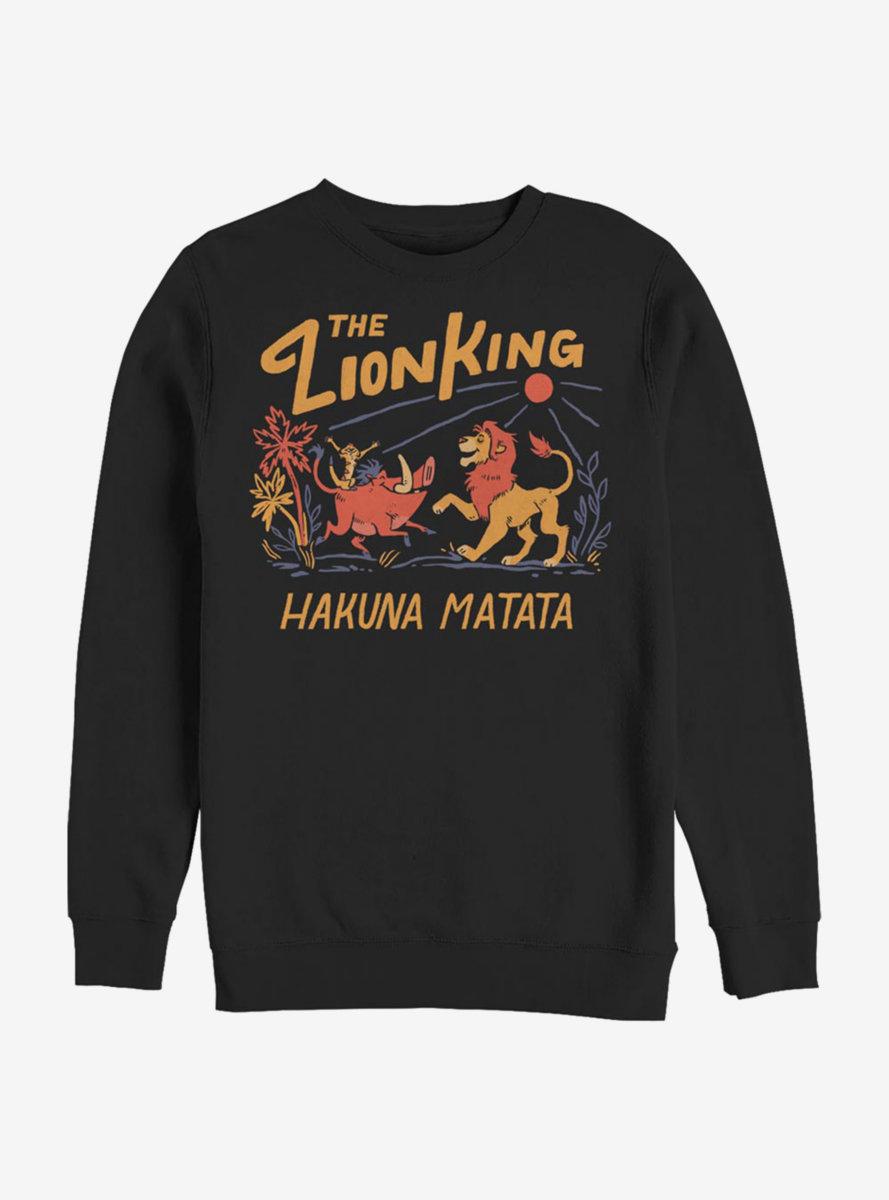 Disney The Lion King Hakuna Matata Sunrise Sweatshirt