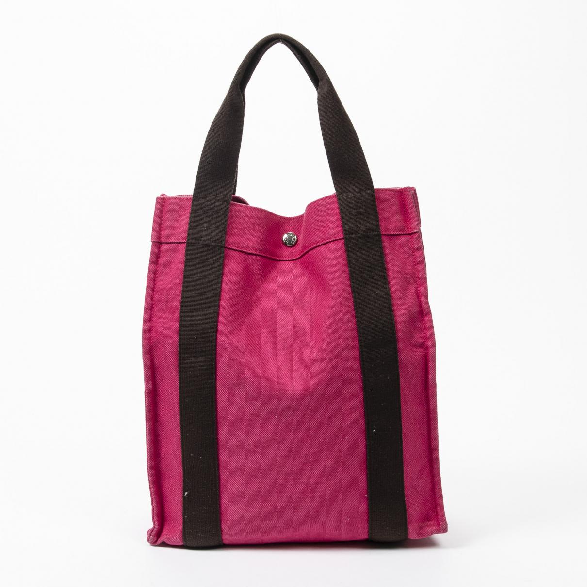 Hermes Herline Handtasche in  Rosa Leder