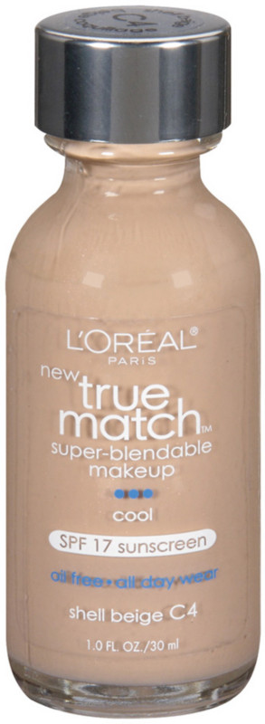 True Match Super-Blendable Foundation Makeup - Shell Beige