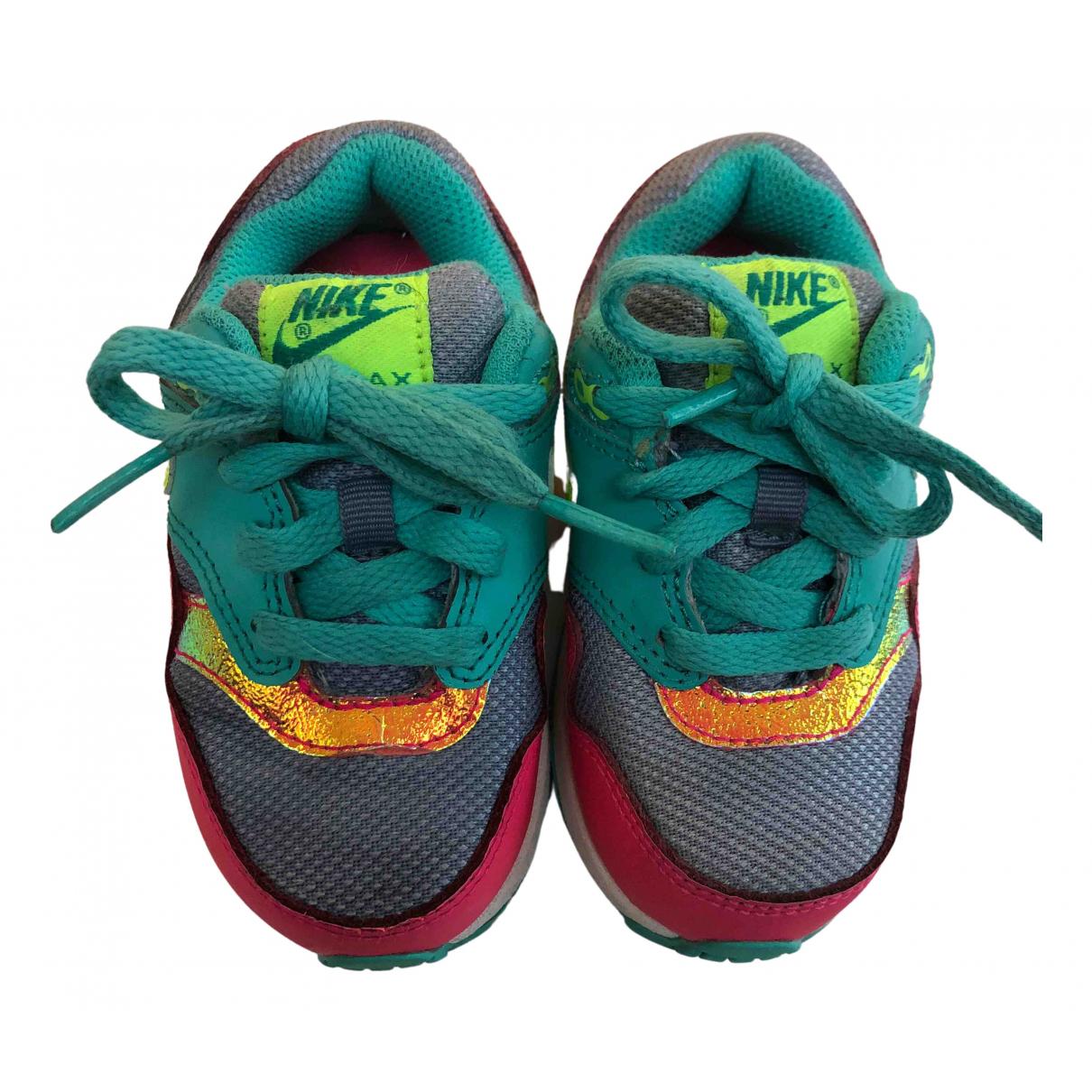 Nike - Baskets Air Max 1 pour enfant en toile - multicolore