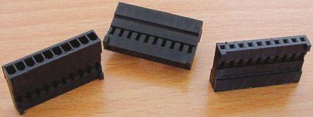 Stelvio Kontek , 48532480 Male Connector Housing, 2.54mm Pitch, 10 Way, 1 Row (20)