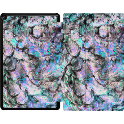 Amazon Fire HD 10 (2018) Tablet Smart Case - Mother of Pearl von Emanuela Carratoni