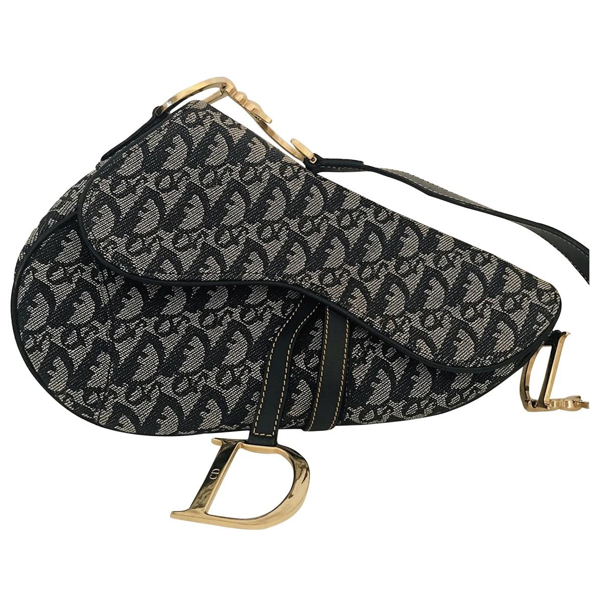 Bolso  Saddle de Lona Dior