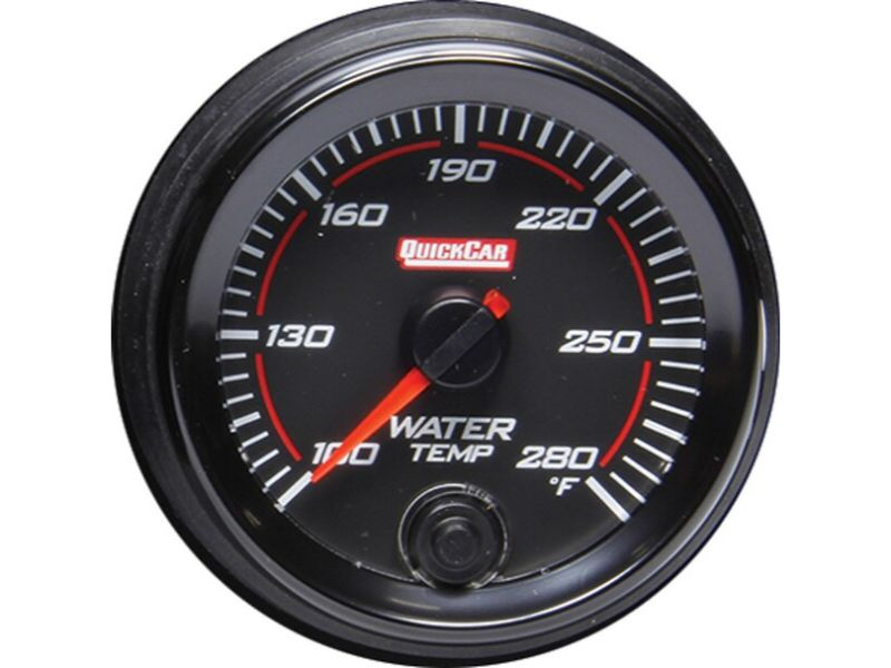 Quickcar Racing Products Redline Gauge Water Temperature
