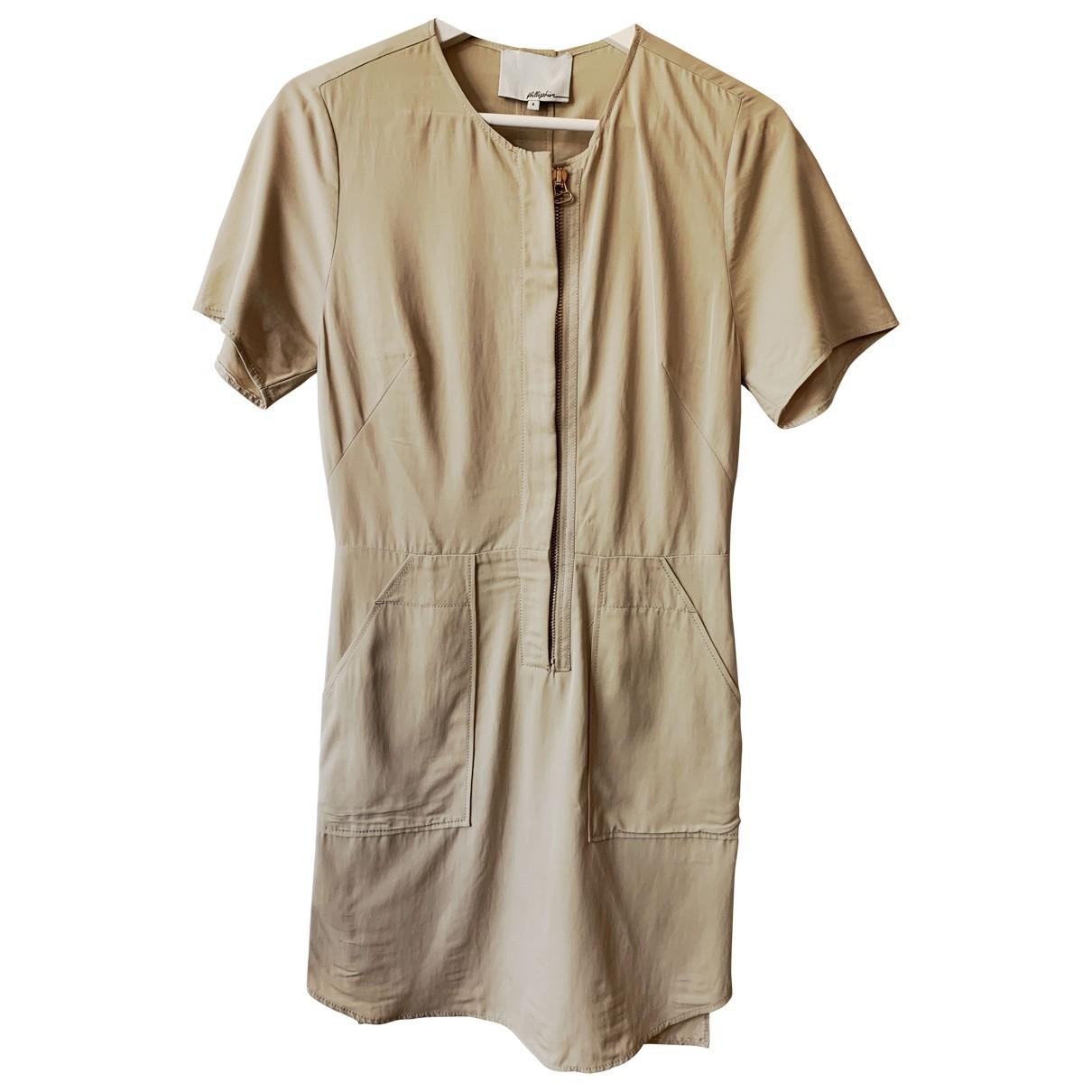 3.1 Phillip Lim \N Kleid in  Beige Synthetik