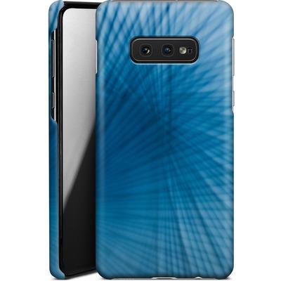 Samsung Galaxy S10e Smartphone Huelle - Blue Lines von Joy StClaire