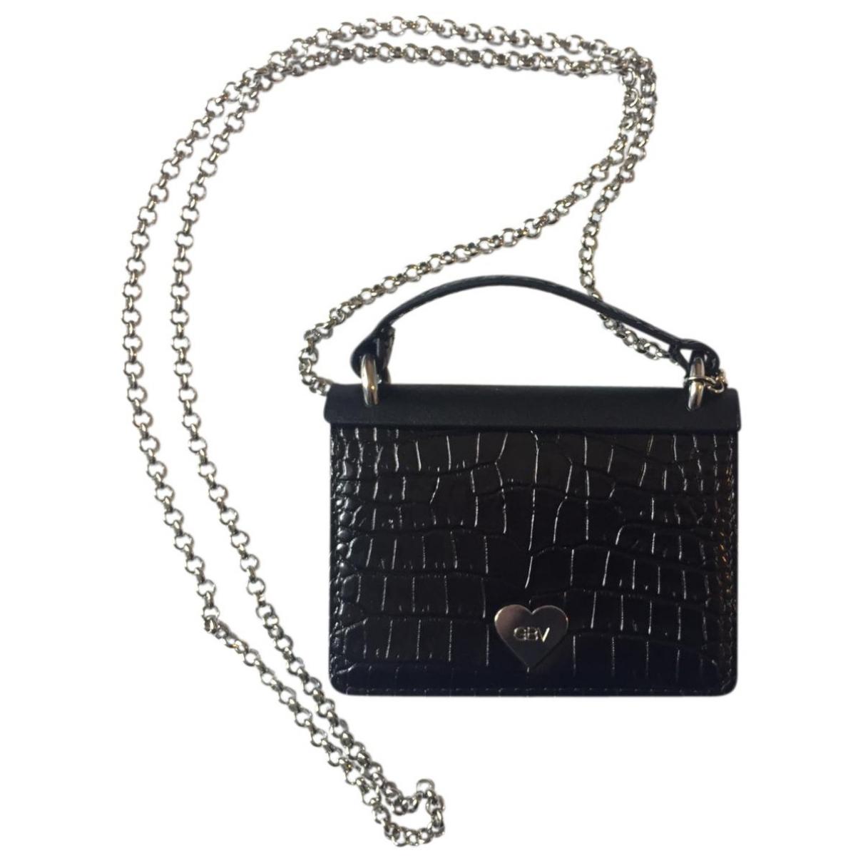 Giambattista Valli X H&m \N Black Leather handbag for Women \N