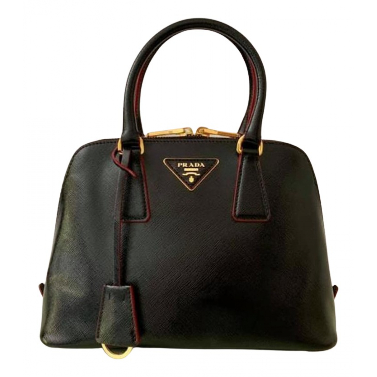 Prada Promenade Black Leather handbag for Women N