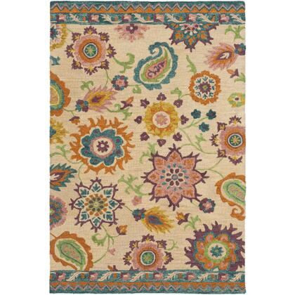 Chanceux CHX-1000 8' x 10' Rectangle Global Rug in
