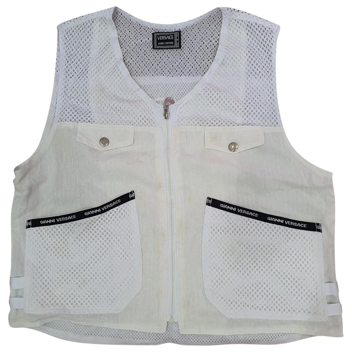 Versace Jean - Manteau   pour homme - blanc
