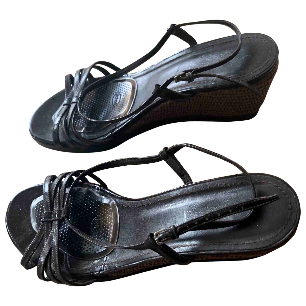 Yves Saint Laurent \N Brown Leather Sandals for Women 41 EU