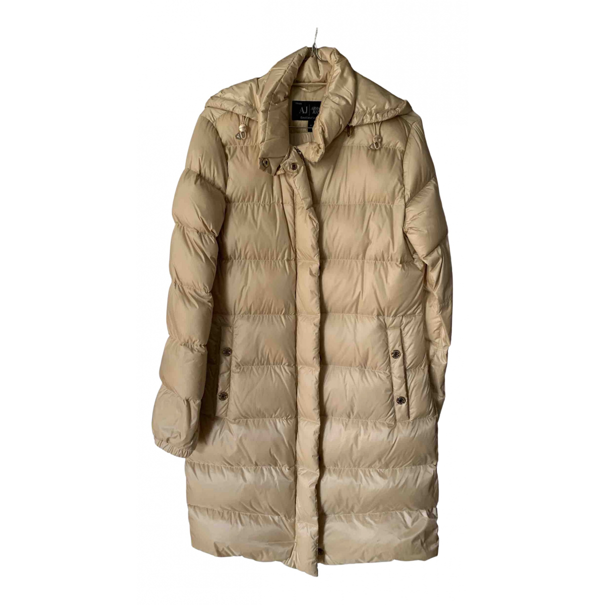 Armani Jeans \N Trench in  Beige Polyester