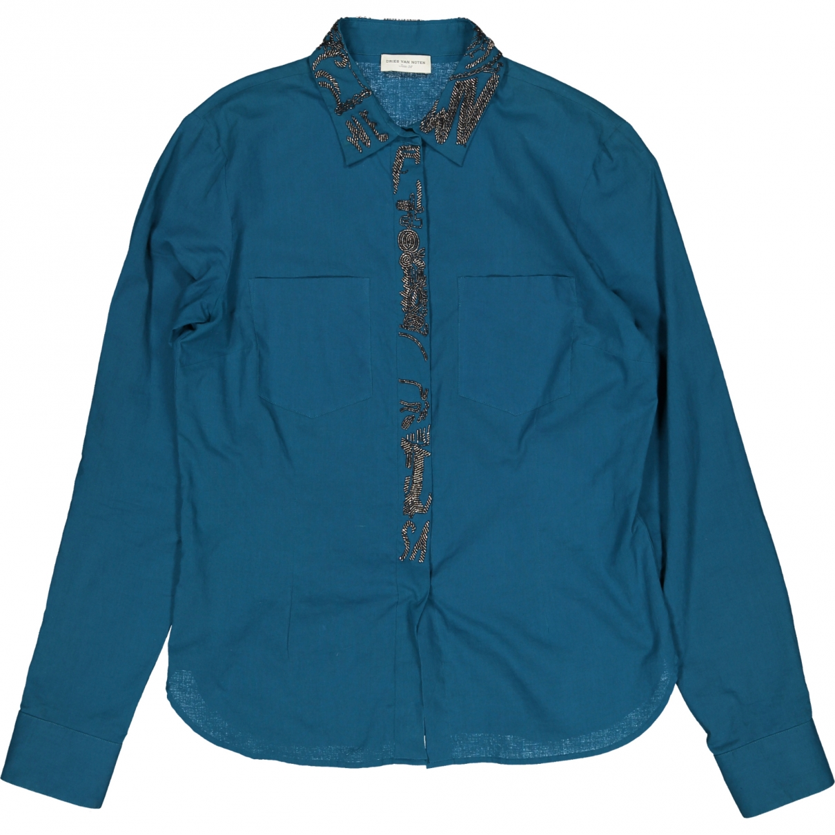 Dries Van Noten \N Blue Cotton  top for Women 38 FR