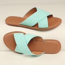 Sandalias de punta abierta