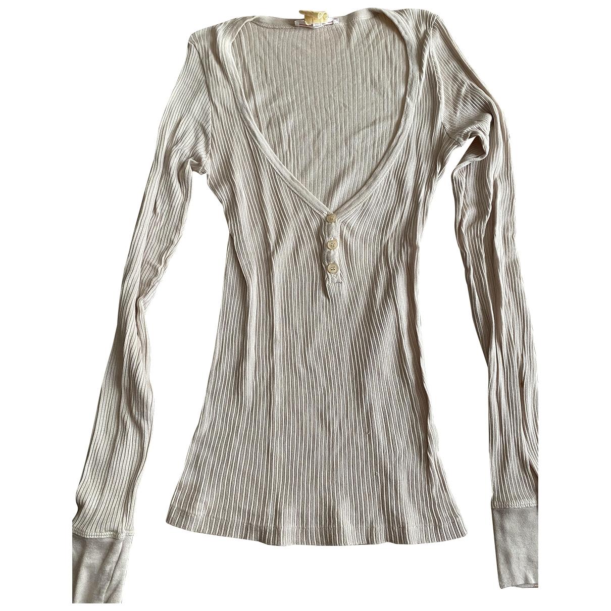 Vanessa Bruno - Top   pour femme en coton - beige