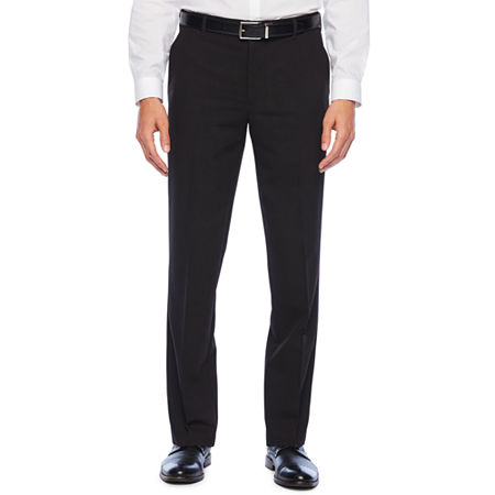 Van Heusen Eventemp Dress Pant Mens Straight Fit, 30 30, Black