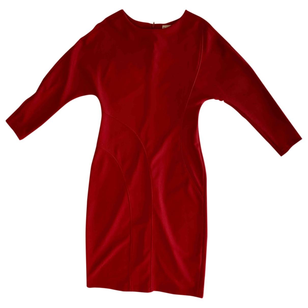 Adolfo Dominguez \N Kleid in  Bordeauxrot Polyester