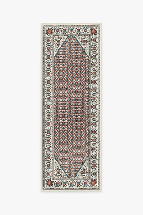 Washable Rug Cover | Samira Suzani Imari Rug | Stain-Resistant | Ruggable | 2.5'x7'